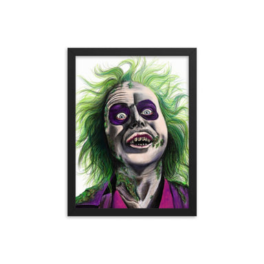 """Beetle Juice"" Print Framed poster"