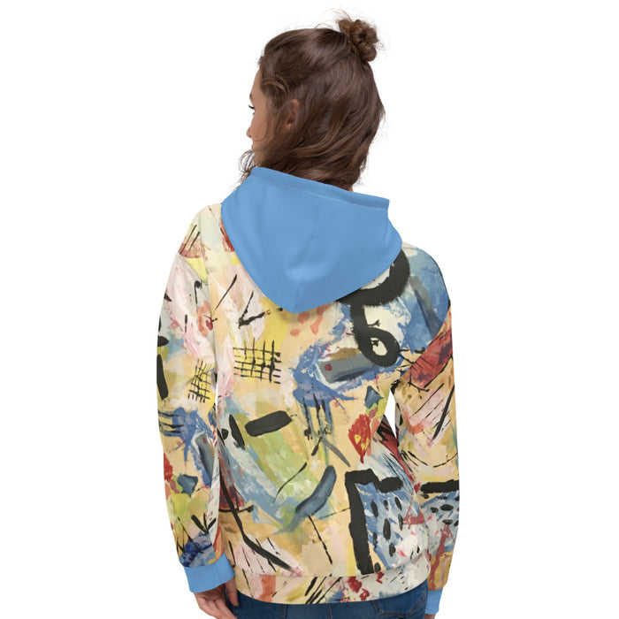 """Andy Warhol Recreation"" Unisex Hoodie - College Collections Art"