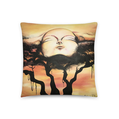 """Free Me"" Basic Pillow - College Collections Art"