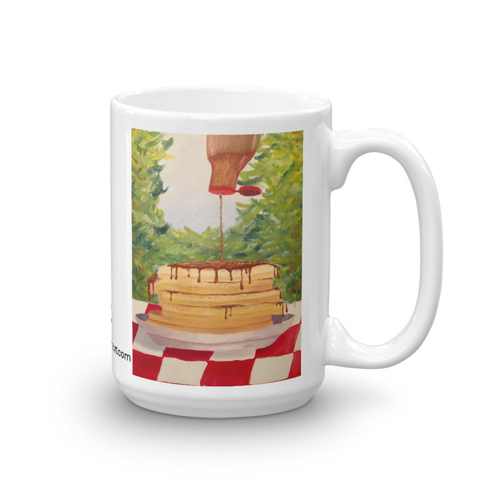 """Pancakes"" Mug - College Collections Art"