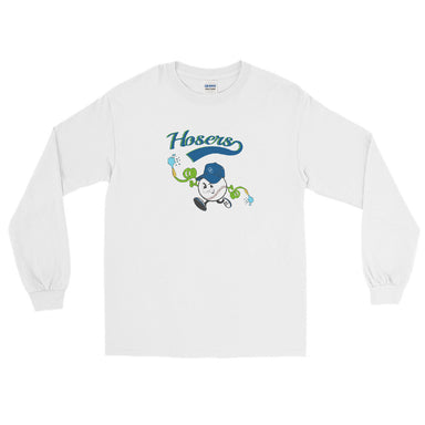 """Hoser Nation"" Men's Long Sleeve Shirt - College Collections Art"