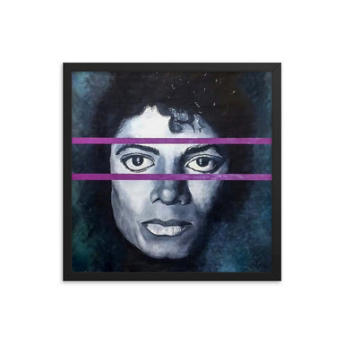 """Michael"" Framed poster"