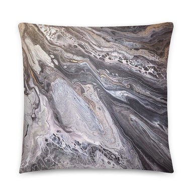 """A Rocky Road"" Basic Pillow - College Collections Art"