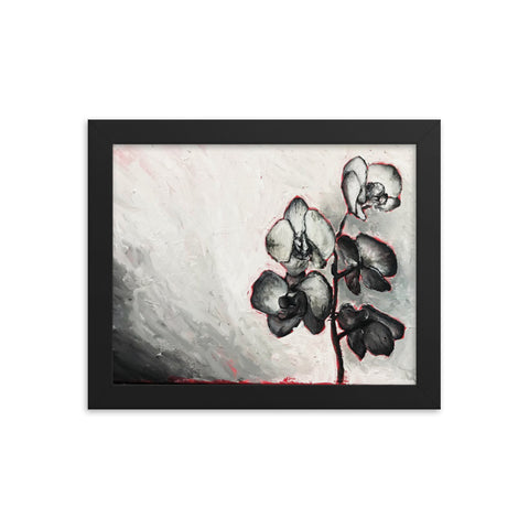 """Flowers"" Print Framed poster"