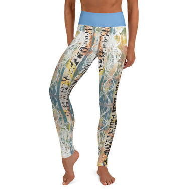 """Untitled Original"" Yoga Leggings - College Collections Art"