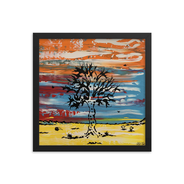 """Tree"" Framed poster - College Collections Art"