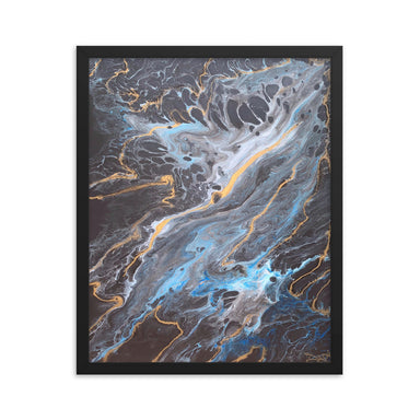 """Lagoon"" Framed Print - College Collections Art"