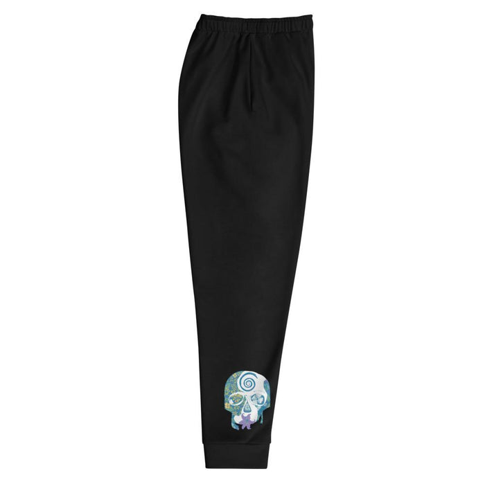 """Tropical Skull"" Joggers - College Collections Art"