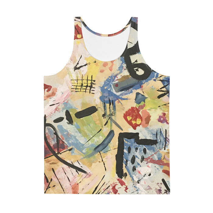"""Andy Warhol Inspired"" Unisex Tank Top - College Collections Art"