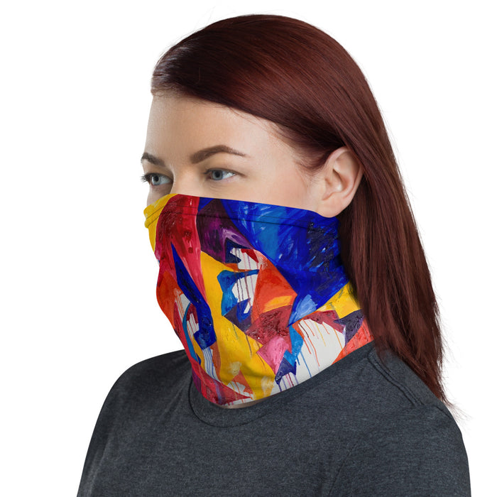 """Shapes Colors"" Neck Gaiter - College Collections Art"