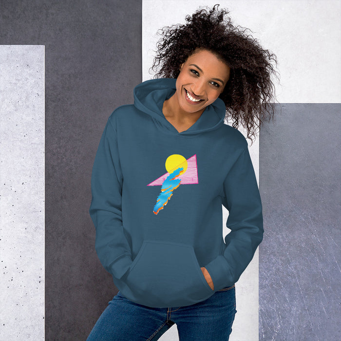 """Shapes"" Unisex Hoodie - College Collections Art"