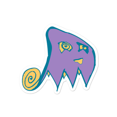 """Ghostly"" Bubble-free stickers - College Collections Art"