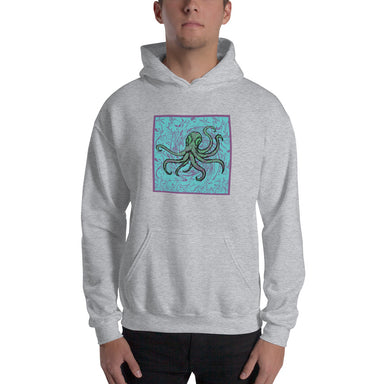 """Octopus"" Unisex Hoodie - College Collections Art"