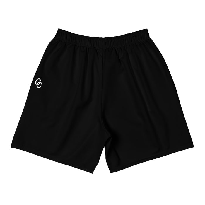 """Shapes"" Men's Athletic Long Shorts - College Collections Art"