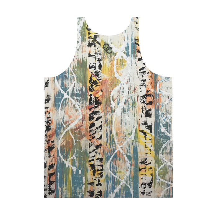 """Original Untitled"" Unisex Tank Top - College Collections Art"