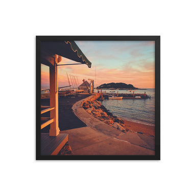 """Madison Sunset"" Framed poster - College Collections Art"