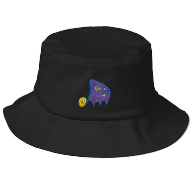 PacMan Ghost Bucket Hat - College Collections Art
