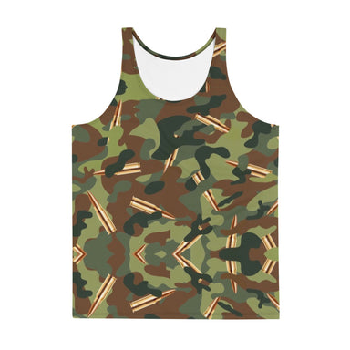 """CAMMO""Unisex Tank Top - College Collections Art"