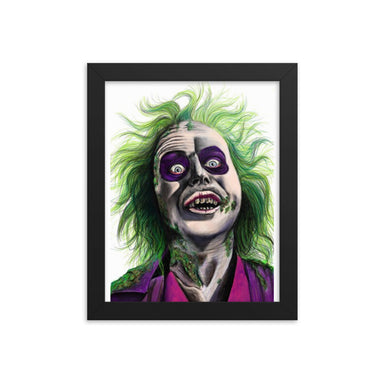 """Beetle Juice"" Print Framed poster - College Collections Art"