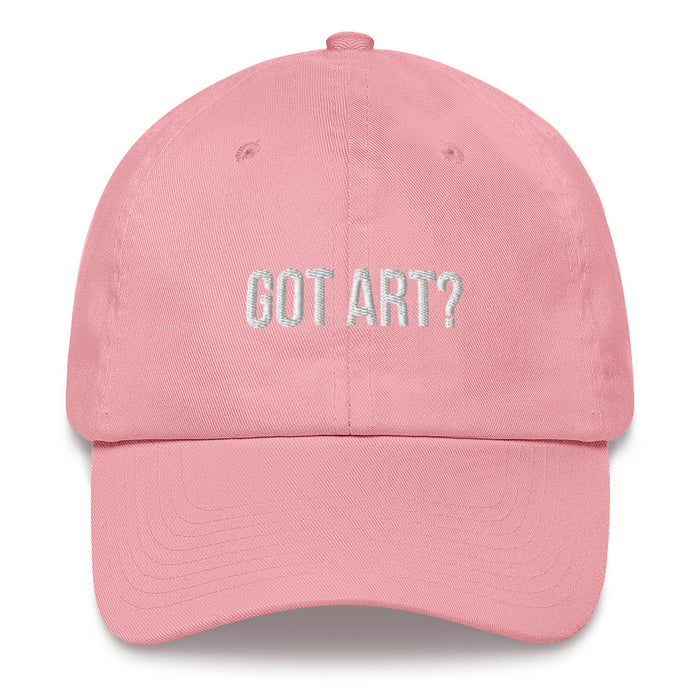 """Got Art?"" Dad hat - College Collections Art"