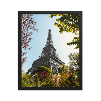 """Paris Sprint"" Framed poster - College Collections Art"