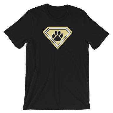 """Super Tiger"" Short-Sleeve Unisex T-Shirt - College Collections Art"