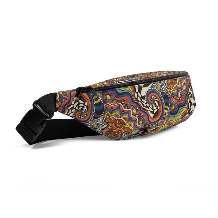 """Zenfuldelic"" Fanny Pack - College Collections Art"