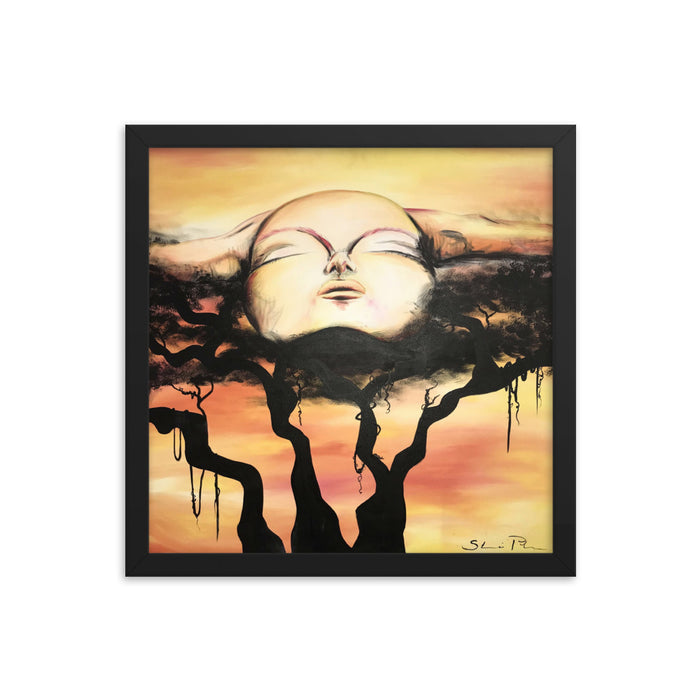 """Free Me""  Print Framed Poster - College Collections Art"