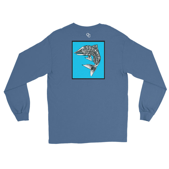 Rough Waters Long Sleeve - College Collections Art