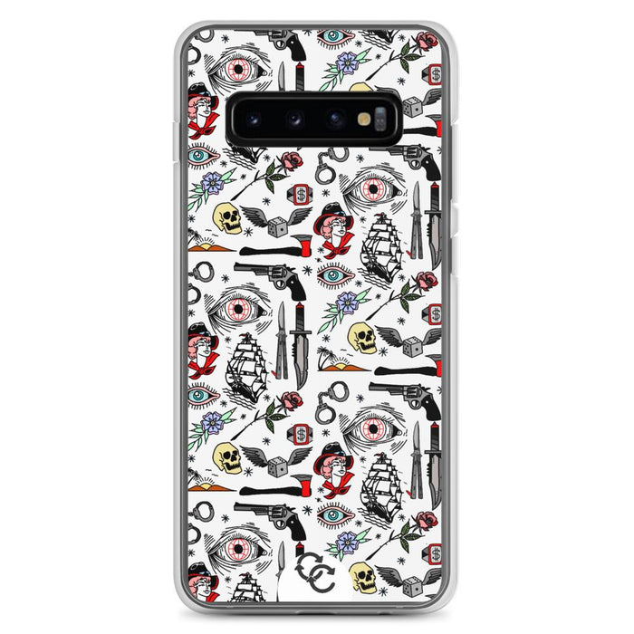 """Pirate Life"" Phone Case - College Collections Art"