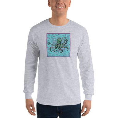 """Octopus"" Men's Long Sleeve Shirt"