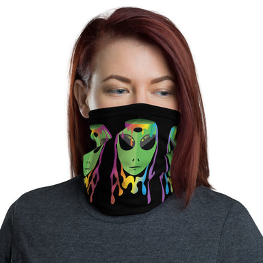 """Alien Dude"" Neck Gaiter - College Collections Art"