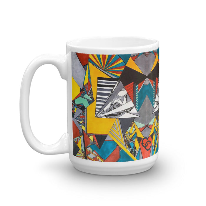 """Geo Therapy Two"" Mug - College Collections Art"