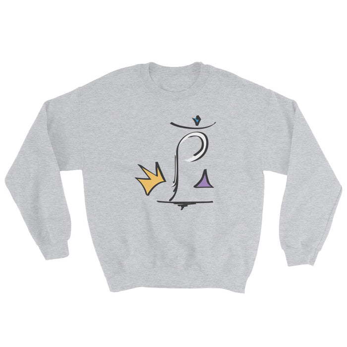 King P Crewneck - College Collections Art