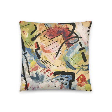 """Andy Warhol Recreation"" Basic Pillow - College Collections Art"
