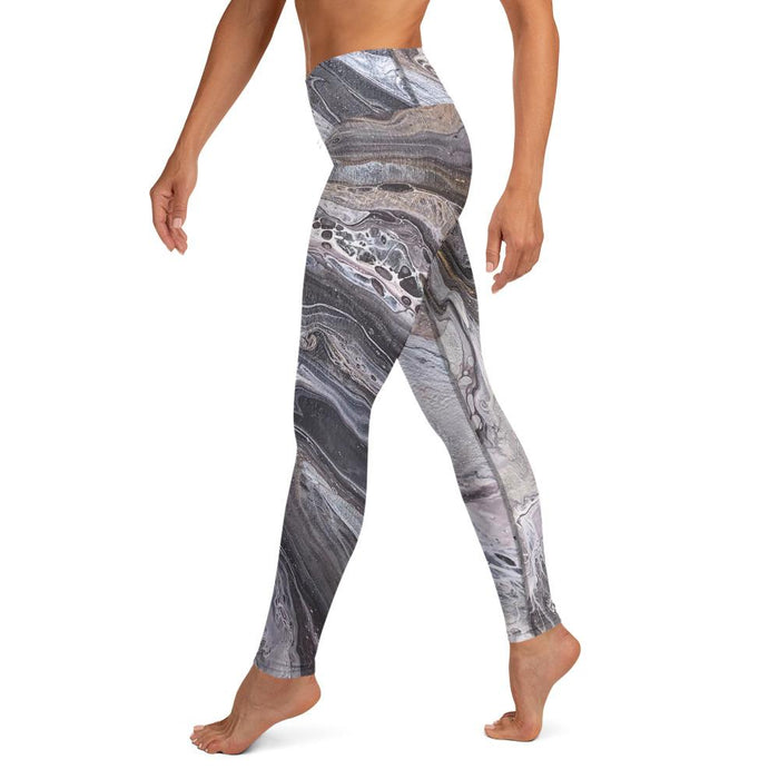 """A Rocky Road"" Leggings - College Collections Art"