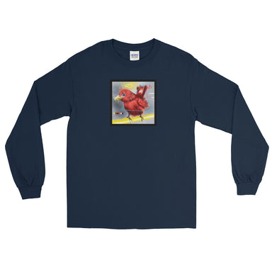 """Picks - 009"" Men's Long Sleeve Shirt - College Collections Art"