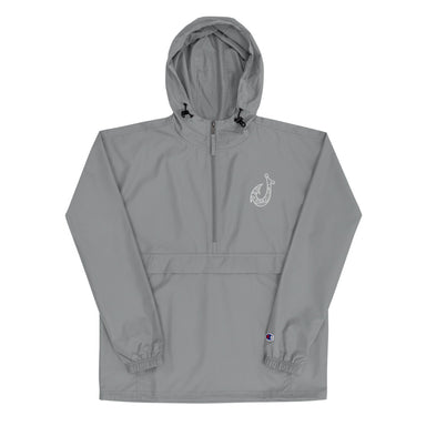 """Hook"" Embroidered Champion Packable Jacket - College Collections Art"