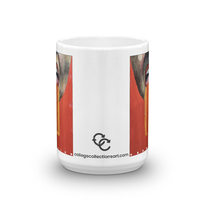 """Vermillion"" Mug - College Collections Art"