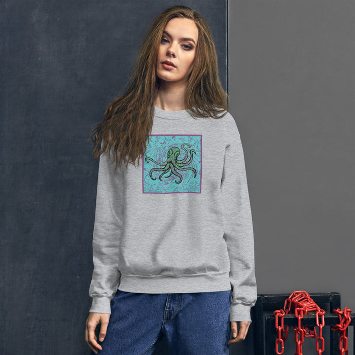 """Octopus"" Unisex Sweatshirt - College Collections Art"