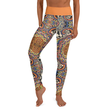 """Zenfuldelic"" Yoga Leggings - College Collections Art"