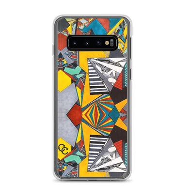"""Geo Therapy Two"" Phone Case - College Collections Art"