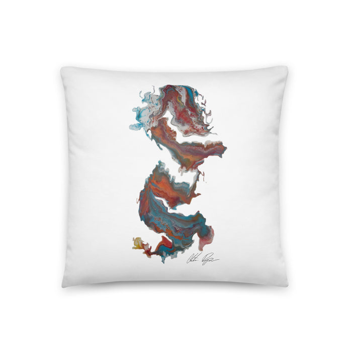 """Untitled 004""  Pillow Print - College Collections Art"