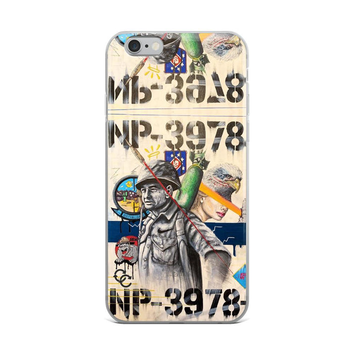 """Picks - 001"" Phone Case - College Collections Art"