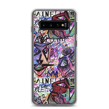 """Faces"" Phone Case - College Collections Art"
