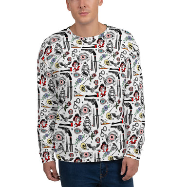 """Pirate Life"" Unisex Sweatshirt - College Collections Art"