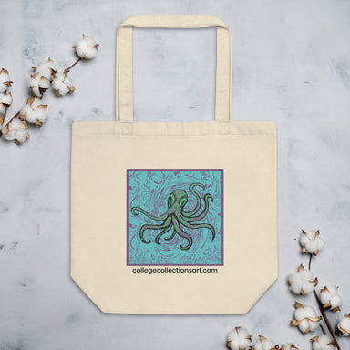 """Octopus"" Eco Tote Bag - College Collections Art"