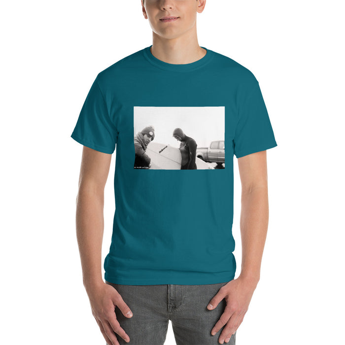 Sweet Blues Surf Tee - College Collections Art