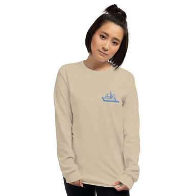 """Tuna"" Long Sleeve T-Shirt - College Collections Art"