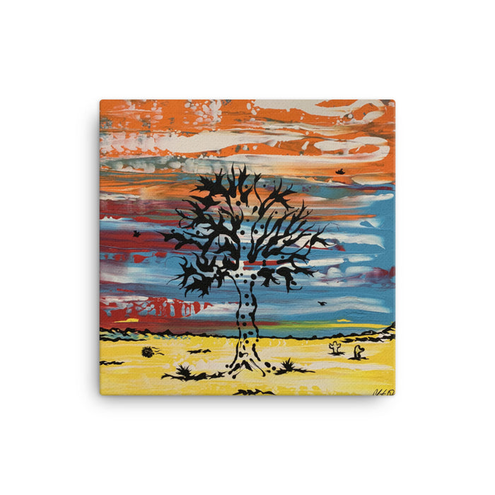 """Tree"" Canvas Print - College Collections Art"